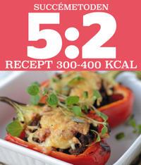 5:2 Succémetoden Recept 300-400 kcal