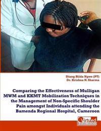 Effectiveness of Mulligan Vs Kkmt on Non-Specific Shoulder Pain