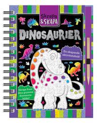 Dinosaurier en skapande aktivitetsbok