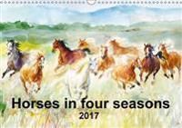Horses in Four Seasons 2017