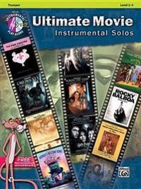 Ultimate Movie Instrumental Solos: Trumpet, Book & CD