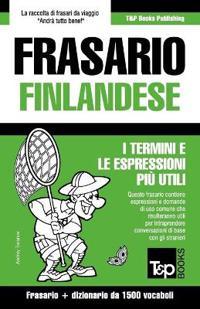 Frasario Italiano-Finlandese E Dizionario Ridotto Da 1500 Vocaboli
