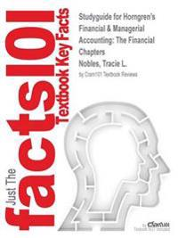 Studyguide for Horngren's Financial & Managerial Accounting
