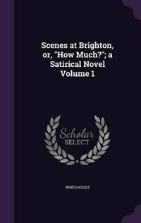 Scenes at Brighton, Or, How Much?; A Satirical Novel Volume 1