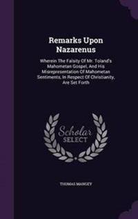 Remarks Upon Nazarenus