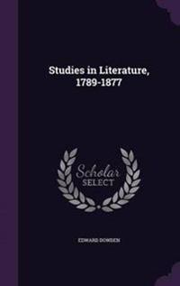 Studies in Literature, 1789-1877