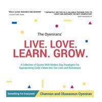 Live Love Learn Grow: Book of Quotes