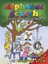 Alphabet Search Coloring Activity Book
