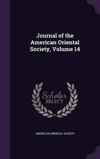 Journal of the American Oriental Society, Volume 14