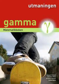 Matematikboken Gamma Utmaningen