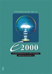 E2000 Småföretagande B / Entreprenörskap & företagande, Lärarhandledning + CD