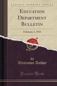 Education Department Bulletin