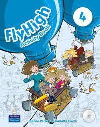 Fly High Level 4 Activity Book and CD ROM Pack