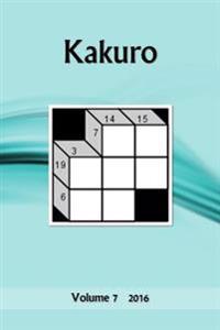Kakuro: Volume 7 2016