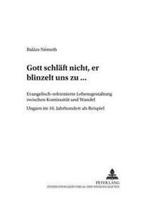 Gott Schlaeft Nicht, Er Blinzelt Uns Zu...: Evangelisch-Reformierte Lebensgestaltung Zwischen Kontinuitaet Und Wandel - Ungarn Im 16. Jahrhundert ALS