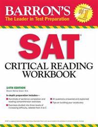 Barron's Sat Critical Reading Workbook