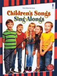 Children's Songs Sing-Alongs: Vocal Deluxe 2-CD Set [With CD (Audio)]