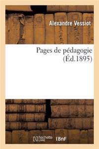 Pages de Pedagogie