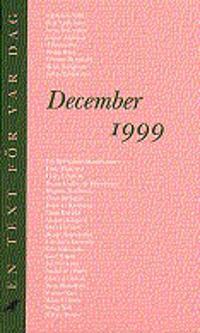December 1999 : adventskalender för vuxna