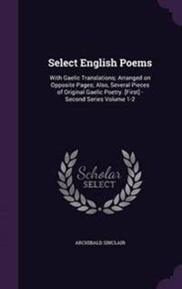 Select English Poems