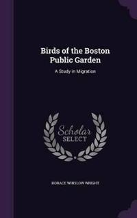 Birds of the Boston Public Garden
