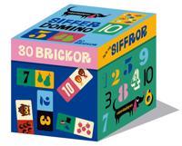 Sifferdomino : Jag lär mig siffror - 30 brickor