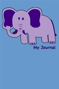 My Journal: Blank Lined Journal - 6x9 - For Kids