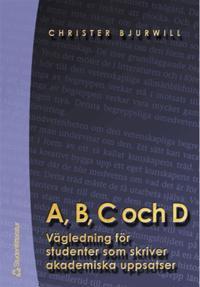 A, B, C och D
