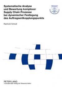 Systematische Analyse Und Bewertung Komplexer Supply Chain Prozesse Bei Dynamischer Festlegung Des Auftragsentkopplungspunkts
