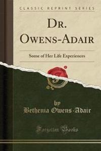 Dr. Owens-Adair