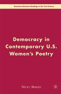 Democracy in Contemporary U.S. Women's Poetry