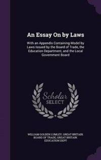 An Essay on by Laws