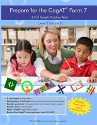 Two Full Length Practice Tests for the Cogat Form 7: For Level 8 (Grade 2)