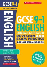 English language and literature revision and exam practice book for all boa