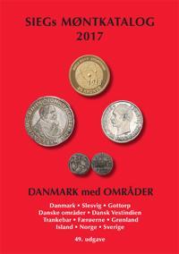 SIEGs Møntkatalog Danmark med områder
