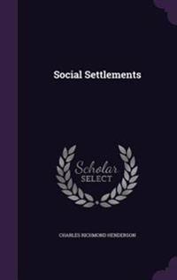 Social Settlements