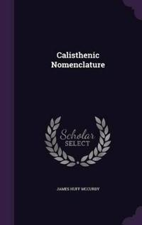Calisthenic Nomenclature