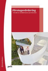 Företagsvärdering - - översikt av området baserat på erfarenhet