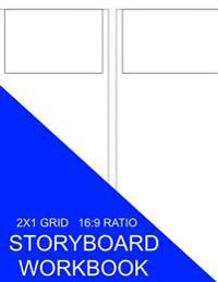 Storyboard Workbook: 2x1 Grid 16:9 Ratio