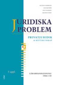 Juridiska problem Lärarhandledning med cd
