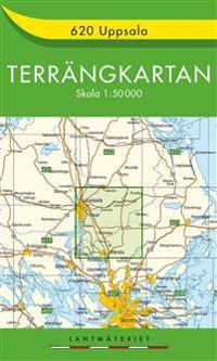 620 Uppsala Terrängkartan : 1:50000