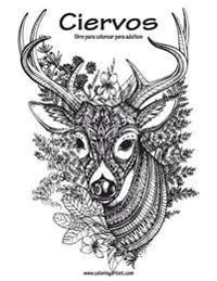 Ciervos Libro Para Colorear Para Adultos 1