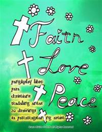 Pangkulay Libro Para Christians Madaling Antas 20 Drawings Sa Pamamagitan Ng Artist