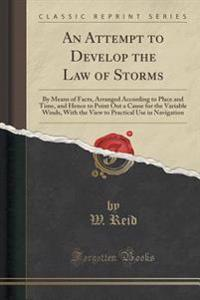 An Attempt to Develop the Law of Storms