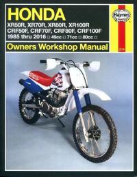 Haynes Honda XR50/70/80/100R & CRF50/70/80/100F Owners Workshop Manual
