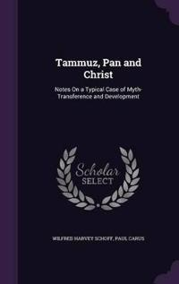 Tammuz, Pan and Christ