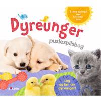 Dyreunger - puslespilsbog