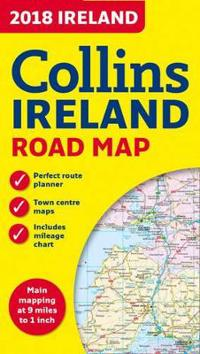 2018 Collins Map of Ireland