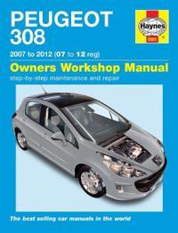 Peugeot 308 service and repair manual - 07-12