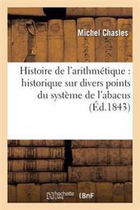 Histoire de l'Arithm�tique